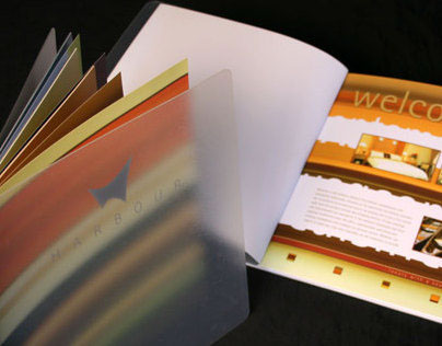 Harbour Hotel, Galway: Bespoke guest welcome folder
