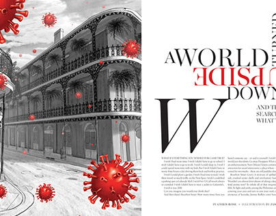NOLA upside down - New Orleans Magazine
