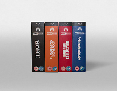 Blu-ray Box Designs