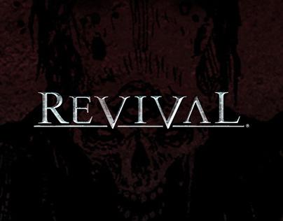 Revival (MMO) - Brand Identity, Graphic & Web Design