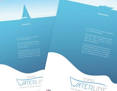 Como Waterline | Adv, Logo Design