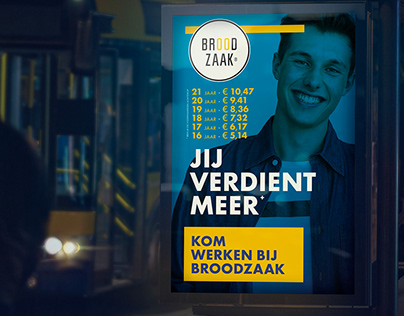 broodzaak | recruitment campaign & branding