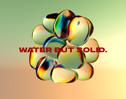 Water but solid