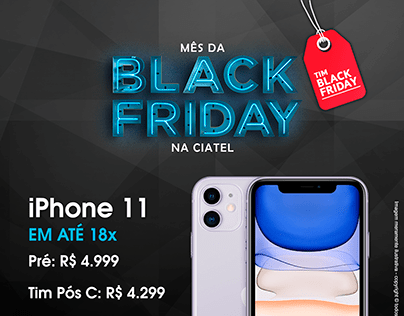 Black Friday Ciatel Celular