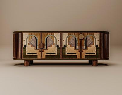 Wanda Sideboard - Studio Silva Design