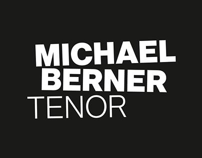 Michael Berner, Tenor