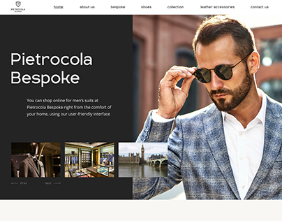 Pietrocola Bespoke Man Fashion Clothes