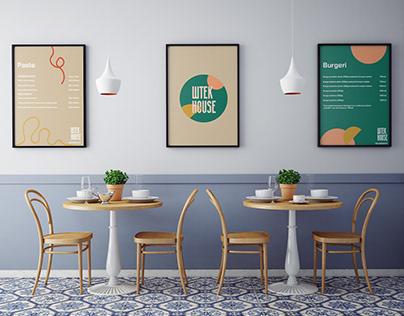 "Visual Identity for takeaway restaurant ""Štek House"""