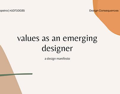 DYB124 Design Manifesto