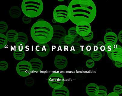 Spotify - Música para todos