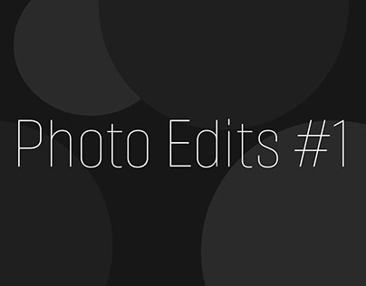 Photo Edits