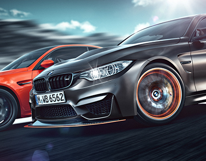 BMW M3/M4 GTS - CGI & Retouching