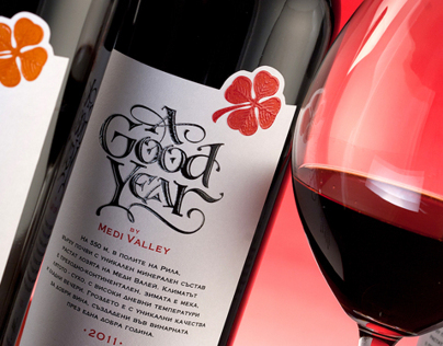A Good Year Wines by the Labelmaker