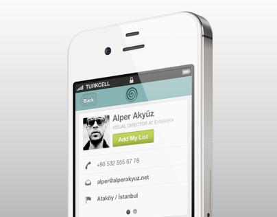 Cardness - iPhone App