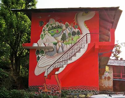 Gunehar Market Street Art