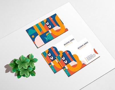 Alexia Goes - Ilustradora Infantil (Cartão de Visita)