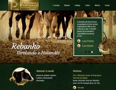 Pantanal Farm Website