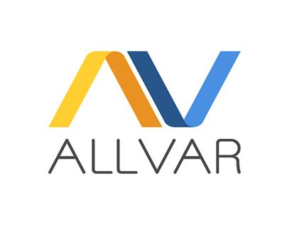 ALLVAR Logo Design