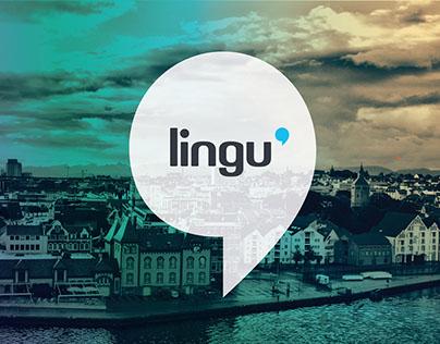 Lingu Marketing materials: Motion graphics - Leaflet