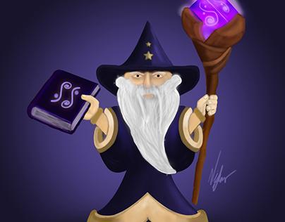 Dede (Büyücü) 2d Concept Art