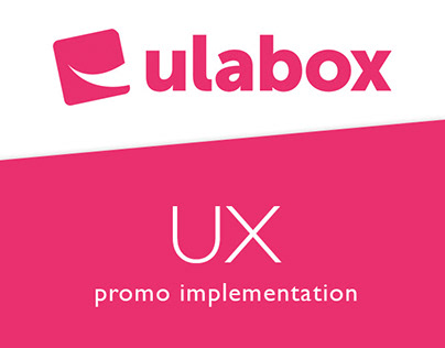 Ulabox promo - UX approach