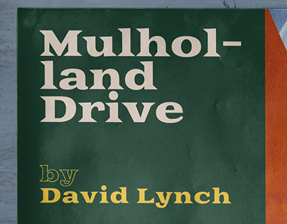 Mulholland Drive Art Poster, a tribute to David Lynch