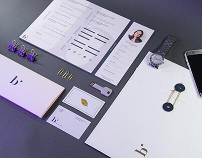 HANDMADE PORTFOLIO / CV / Letter / Business Card