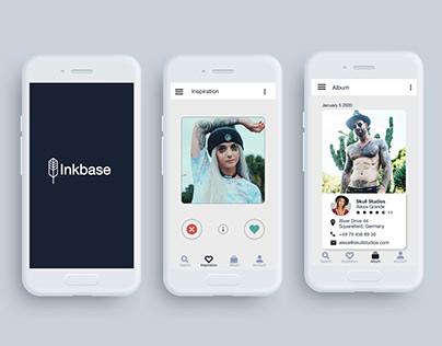 UX Design Portfolio - Inkbase App