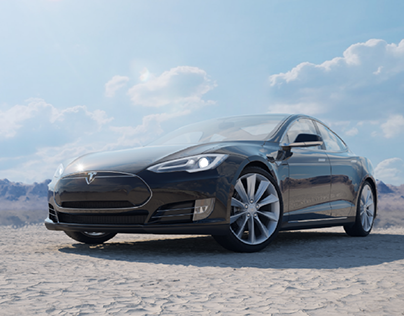Tesla Model S visualization