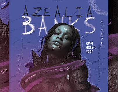 Azealia Banks 2018 Brasil Tour