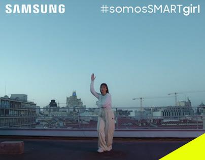 #somosSMARTgirl - SAMSUNG