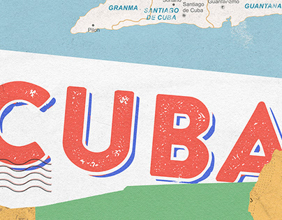 Cuba Map - Habanos