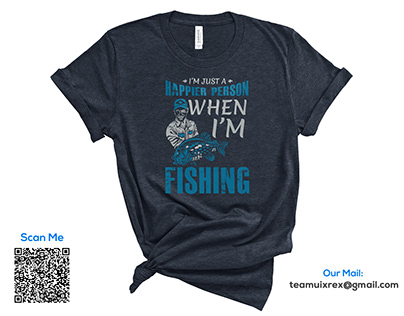 Fishing T-Shirt Design Bundle​​​​​​​ Free 1
