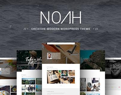 NOAH | Creative & Modern Theme