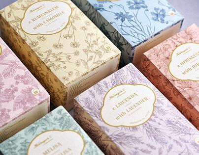 tea package redesign