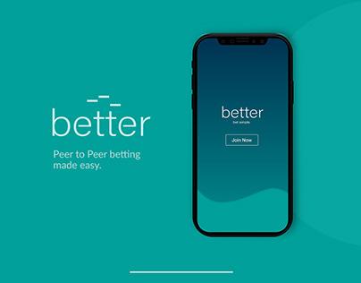 better - App Concept
