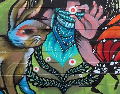 Flora Fauna Mural