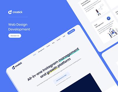 Web Design - Creatick