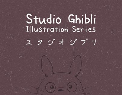 Studio Ghibli - Illustration Series