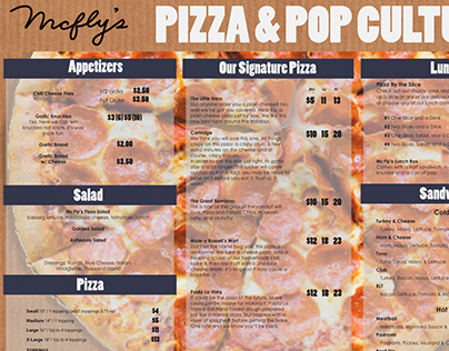 McFly's Pizza