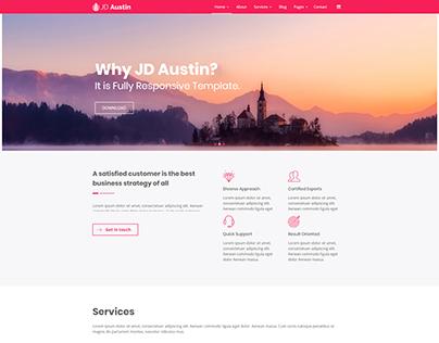 JD Austin - Best Free Multipurpose Joomla Template