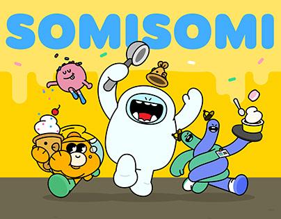 SOMISOMI Chacracter Branding