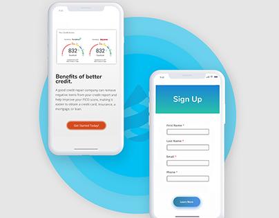 CreditClarity Website Design, Branding & Identity