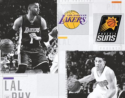 NBA on TNT Social Media Promo + Score