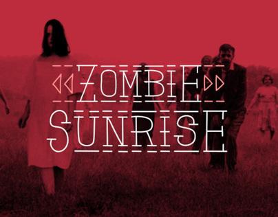 Zombie Sunrise - Font