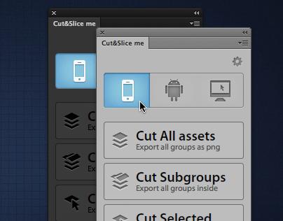 Cut&Slice me - Photoshop plugin