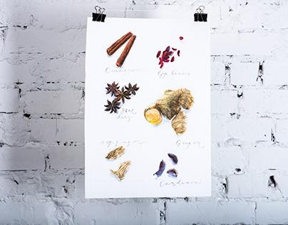 Aquarelle Poster