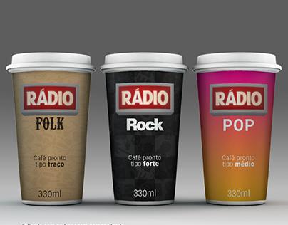 Café RÁDIO (tipografia)