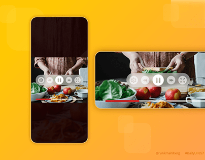 Video player - Daily UI
