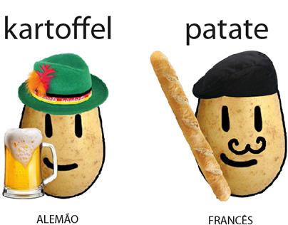 Ilustração - Batatas